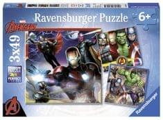 Ravensburger Disney Avengers 3x49 dílků