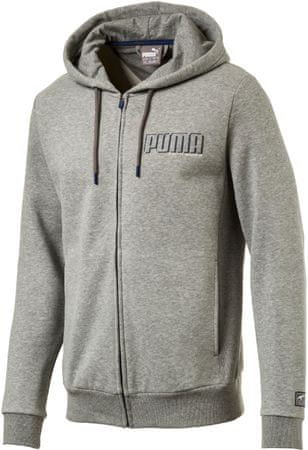 Puma STYLE Athletics FZ Hoody FL Medium Gray S