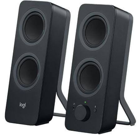 Logitech bluetooth zvočniki Z207 2.0, črni