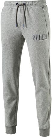 Puma ženske športne hlače STYLE Athletics Pants FL cl Medium Gray, S