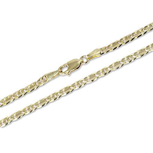 Brilio Stylový zlatý řetízek 55 cm 271 115 00247 - 9,05 g