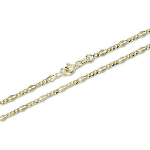 Brilio Originální zlatý řetízek 45 cm 271 115 00264 - 2,75 g