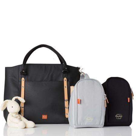 PacaPod MIRANO přebalovací taška černá