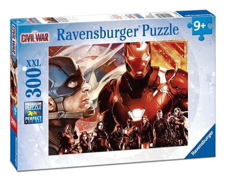 Ravensburger Avengers: Captain America vs. Iron Man 300 dílků
