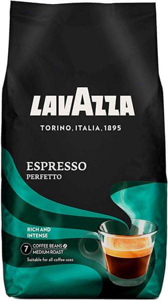 Lavazza Espresso Perfetto zrnková káva 1 kg