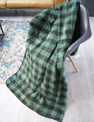Ibena Jacquard Messina deka zelená 150x200 cm