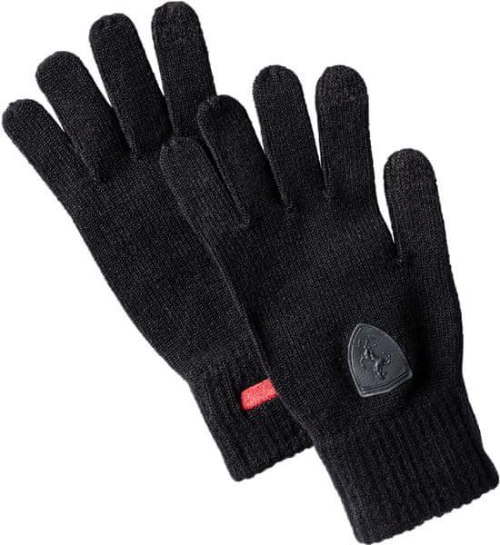 Puma FERRARI LS knitted gloves Black M