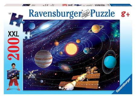 Ravensburger sestavljanka Sončni sistem XXL, 200 delov