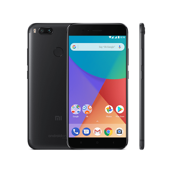 Xiaomi Mi A1 Black, 4GB/64GB, CZ LTE, Global Version