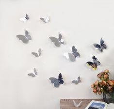 Walplus Zrcadloví motýli 3D WS1013