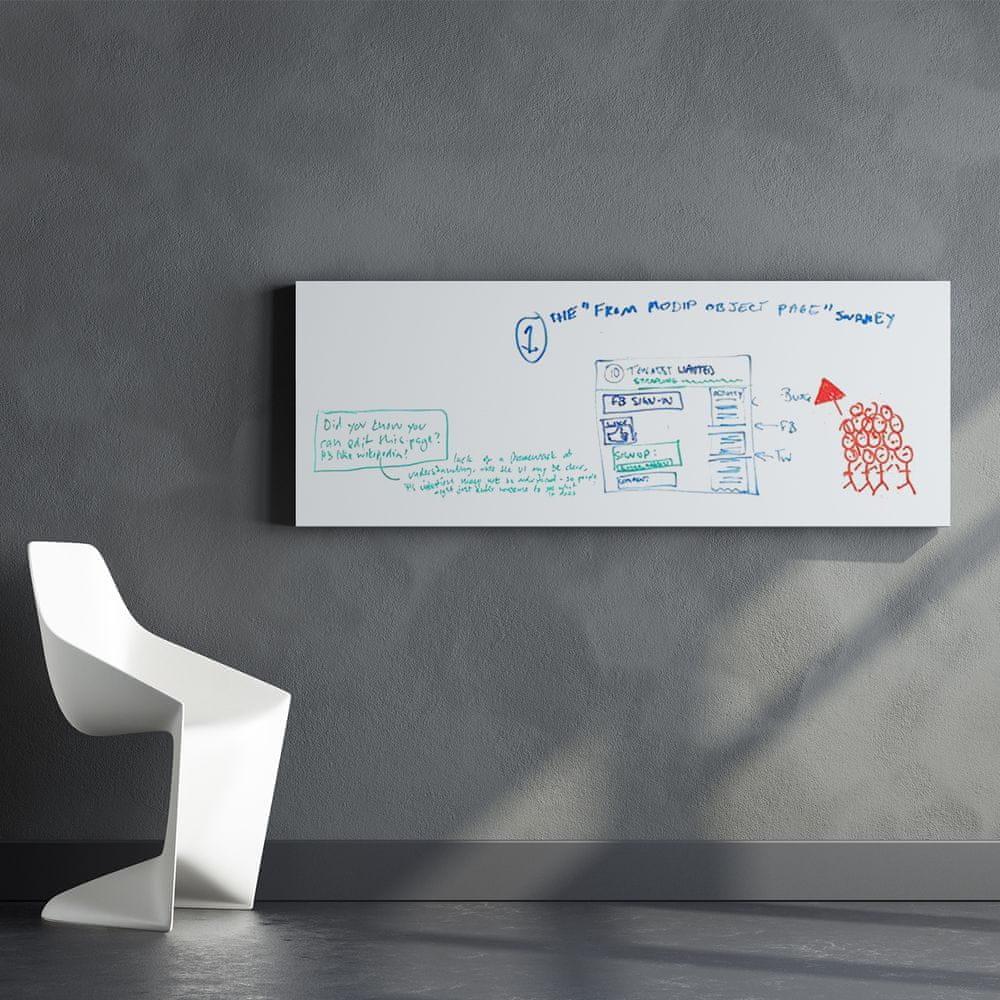 Walplus Bílá tabule na zeď WS1110