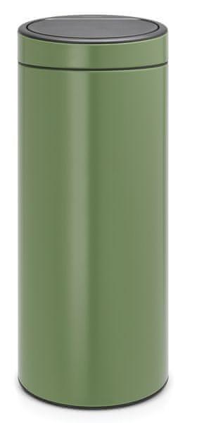 Brabantia Koš Touch Bin New 30L zelená