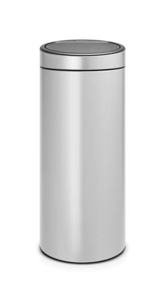 Brabantia Koš Touch Bin New 30L šedá