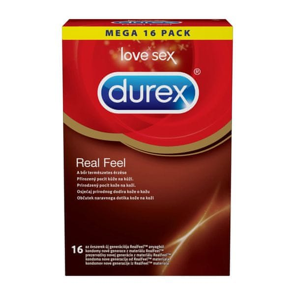 Durex Real Feel 16 ks