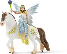 Schleich Víla Eyela ve slavnostním oděvu na koni 70516