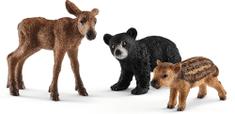 Schleich Set mláďatá lesných zvieratiek