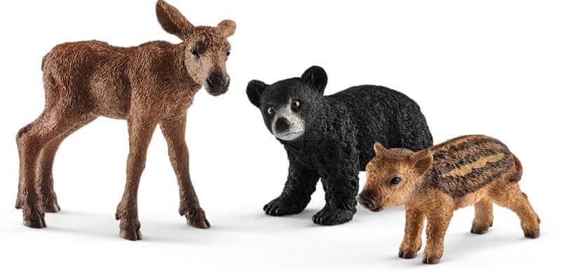Schleich Set mláďata lesních zvířátek 41457