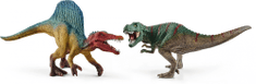 Schleich Set Spinosaurus a T-rex malý 41455