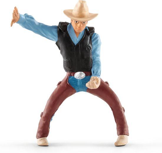 Schleich Kowboj na koniu rodeo 41416