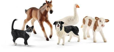 Schleich Farmářská zvířata set 5ks 42386
