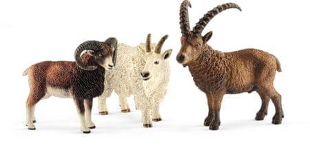 Schleich Hegyi állatok készlet 41459