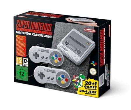 Nintendo Classic Mini: SNES - rozbaleno