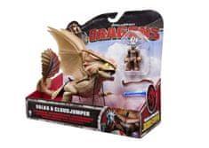 Dragons brezzobi zmaj z vikingom, set deluxe