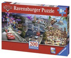 Ravensburger Disney Auta Panoráma 200 dilků