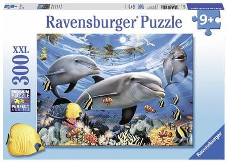 Ravensburger sestavljanka delfini