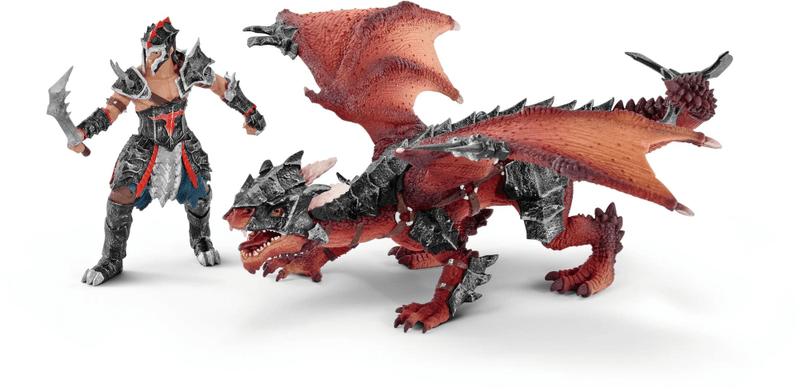 Schleich Bojovník s drakem 70128