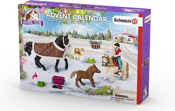 Schleich Adventní kalendář Schleich 2017 - Koně 97447