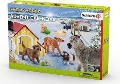 Schleich kalendarz adwentowy 2017 - Zwierzęta domowe