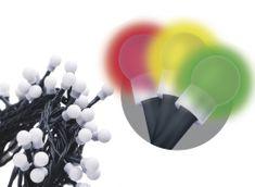 Emos Řetěz s časovačem 200 LED koule 20 m multicolor