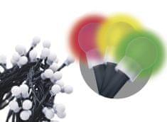 Emos 480 LED řetěz – kuličky, 48 m, multicolor, časovač