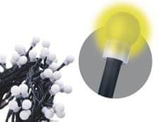 Emos 480 LED řetěz – kuličky, 48 m, teplá bílá, časovač