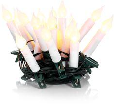 Retlux řetěz svíčky 20LED teplá bílá - rozbaleno