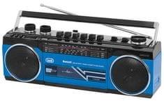 Trevi RR 501 BT radijski kasetofon, moder