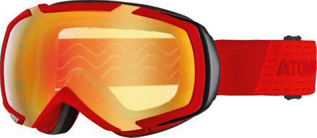 Atomic smučarska očala Revel M Stereo, rdeča