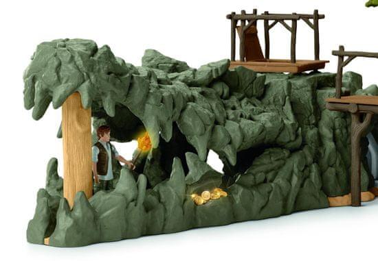 Schleich Kutatóállomás a krokodil dzsungelben 42350