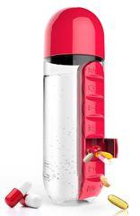 Asobu butelka dozująca Pill Organizer, 600 ml