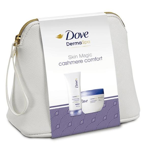 Dove Dámská prémiová kosmetická taška Cashmere Comfort