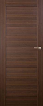 VASCO DOORS Interiérové dveře SANTIAGO plné, model 1, Merbau, C