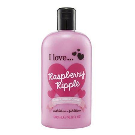 I Love Cosmetics Koupelový a sprchový krém s vůní malin (Raspberry Ripple Bath & Shower Creme) 500 ml