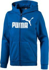 Puma otroška jopa ESS No.1 FZ Hoody FL, modra