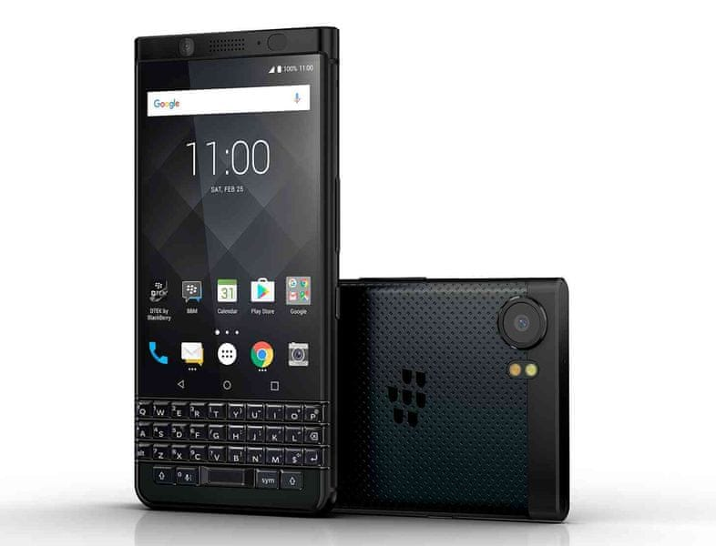 BlackBerry KEYone, QWERTY, 64 GB, Black Edition