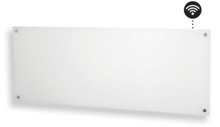 Mill stenski radiator AV1200WIFI, 1200W WIFI steklen