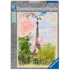 Ravensburger Balony a Eiffelova věž 1000 dílků