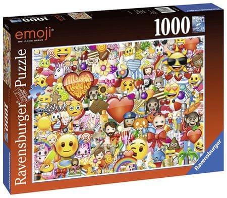 Ravensburger sestavljanka Emoji, 1000 delov