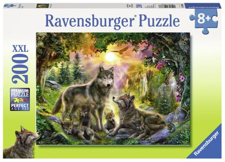 Ravensburger sestavljanka volkovi