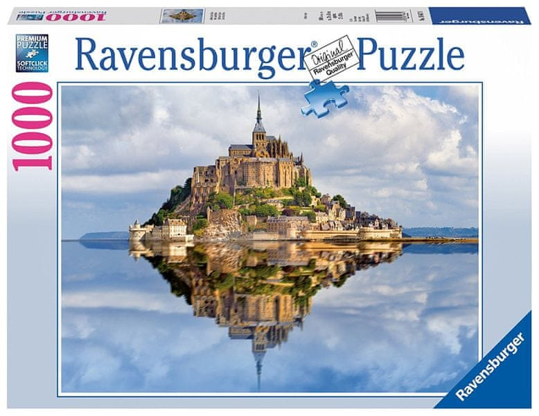 Ravensburger Le Mont-Saint-Michel panorama 1000 dílků